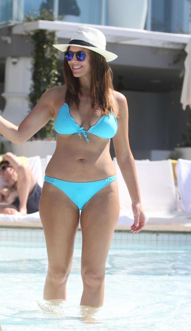 Imogen Thomas in Blue Bikini -12