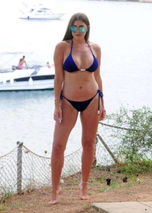 Imogen Thomas - Wearing Bikini in Mallorca