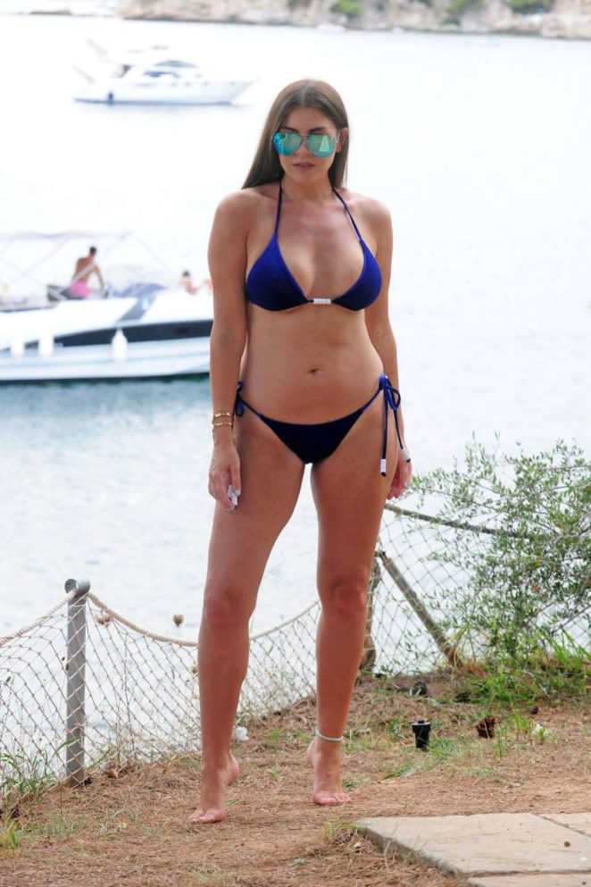 Imogen Thomas - Wearing Bikini in Mallorca