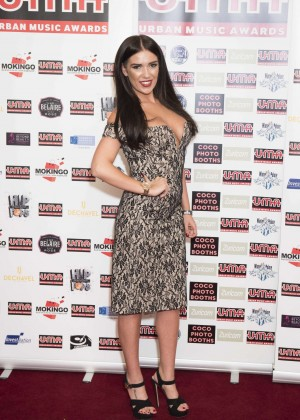 Imogen Townley - 2015 Urban Music Awards in London