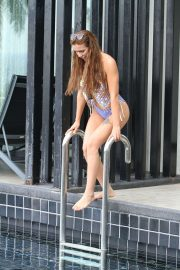 Imogen Townley - Wearing bikini in Thailand