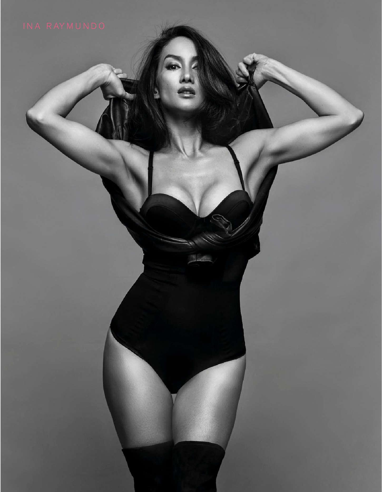 Ina Raymundo Fhm Philippines Magazine November 2015