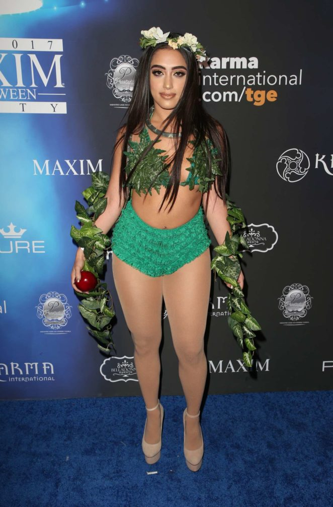 inas x 2017 maxim halloween party in los angeles