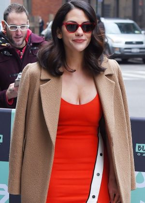 Inbar Lavi - Arrives at AOL Build Series in NYC