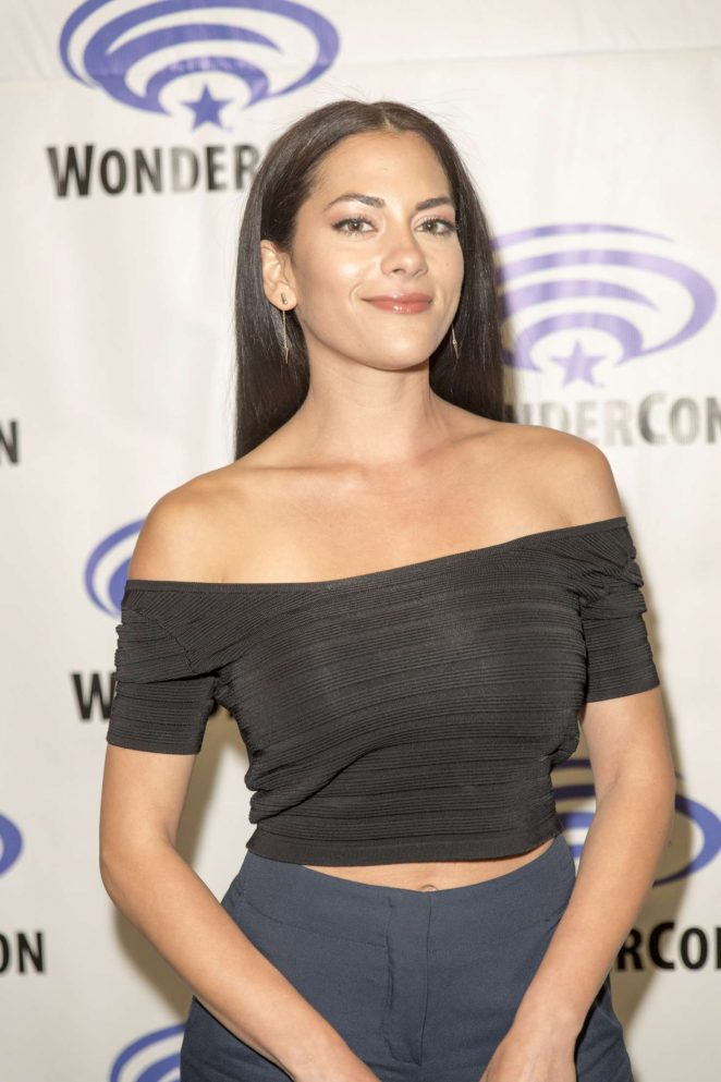 Inbar Lavi - 'Prison Break' series press room at Wondercon in Anaheim