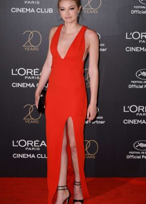 India Gants - L'Oreal 20th Anniversary Party in Cannes