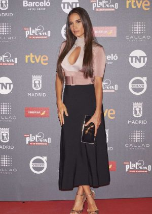 India Martínez – Platino 2017 Awards in Madrid
