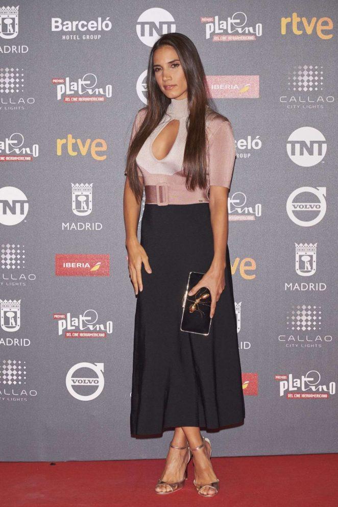India Martínez – Platino 2017 Awards in Madrid