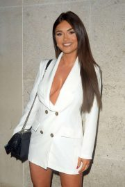 India Reynolds - At STK London Lipstick and Champagne party