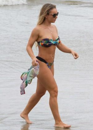 Indianara Carvalho in Bikini in Sao Paulo