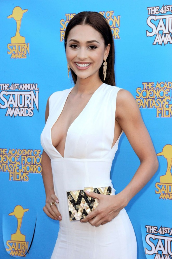 indsey Morgan - 2015 Saturn Awards in Burbank