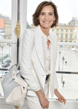 Ines De La Fressange - Schiaparelli Fashion Show FW 2017 in Paris