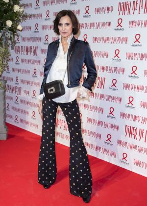 Ines de la Fressange - Sidaction Gala Dinner SS 2017 in Paris