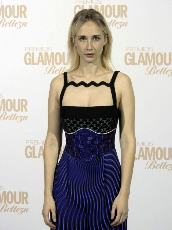 Ingrid Garcia-Jonsson - Glamour Beauty Awards 2017 Photocall in Madrid