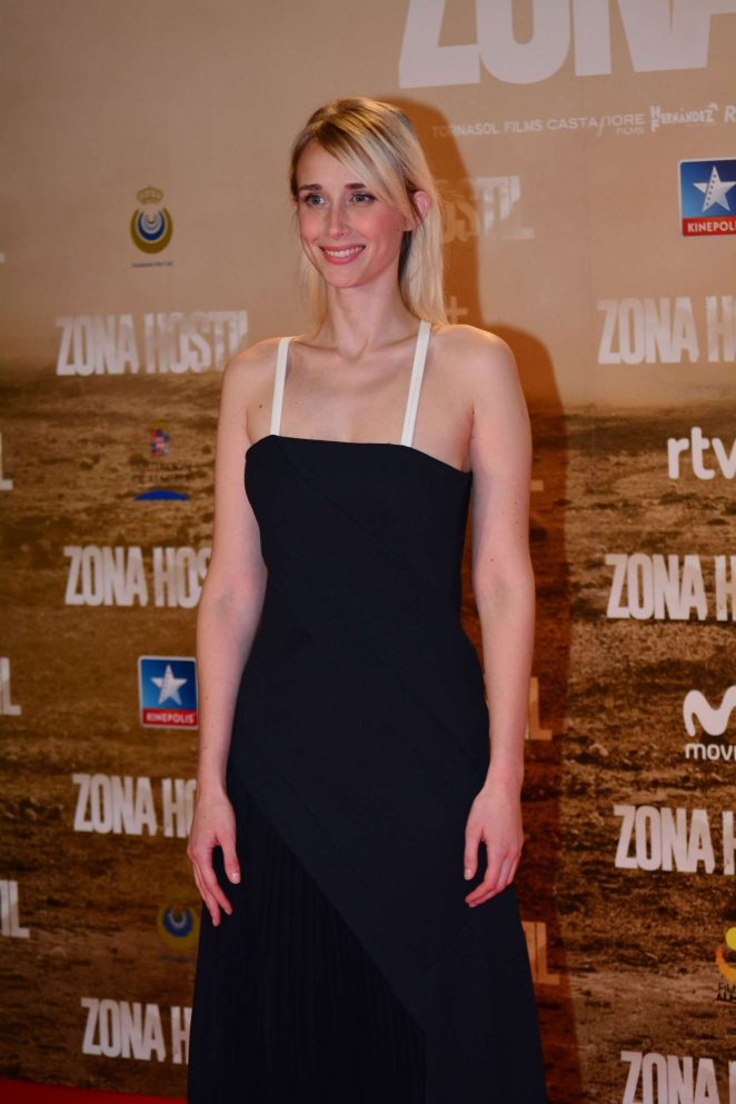 Ingrid Garcia-Jonsson - 'Zona Hostil' Premiere in Madrid