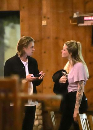 Ireland Baldwin and Corey Harper - Out in West Hollywood