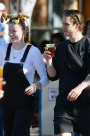 Ireland Baldwin and her boyfriend Corey Harper - Out at Disneyland