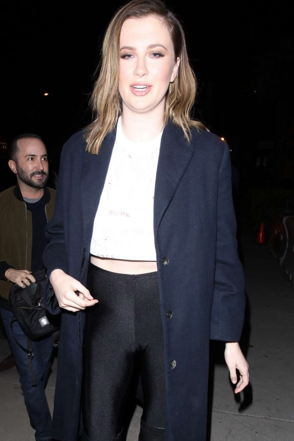 Ireland Baldwin - Arrives at the Marcell Von Berlin Flagship Store in Los Angeles