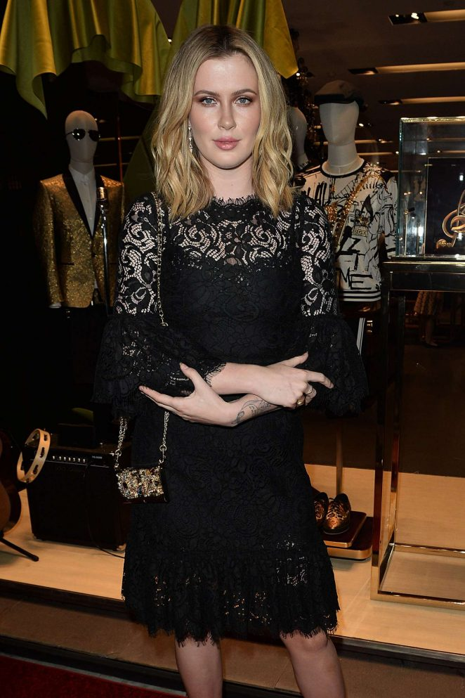 Ireland Baldwin at Dolce and Gabbana Store Party in Los Angeles