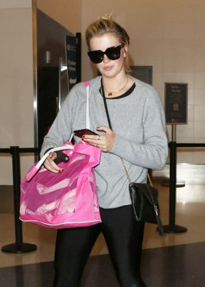 Ireland Baldwin at LAX Airport in LA