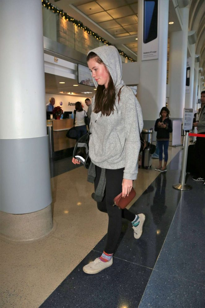Ireland Baldwin at LAX Airport in Los Angeles