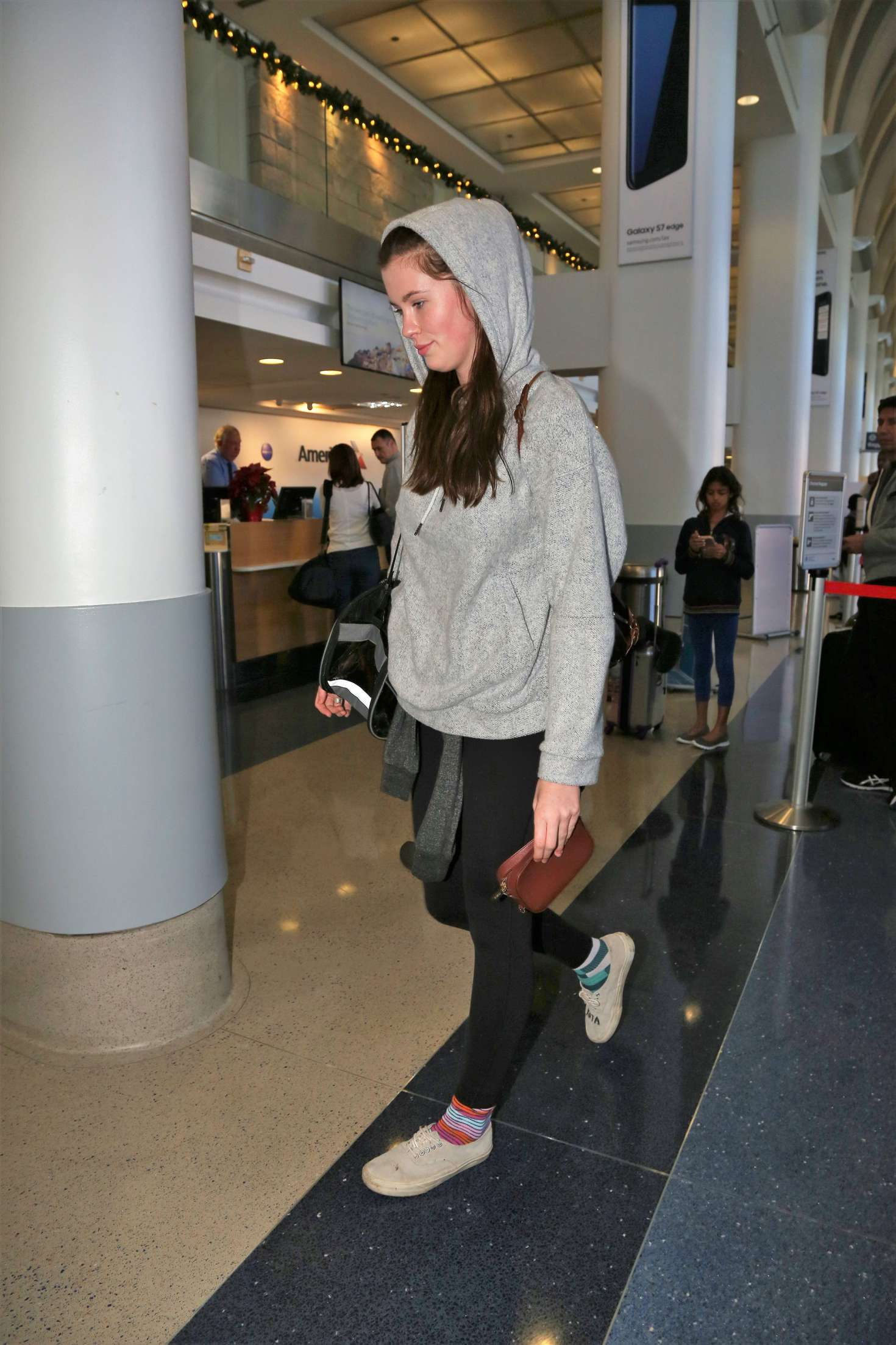 Ireland Baldwin at LAX Airport in Los Angeles