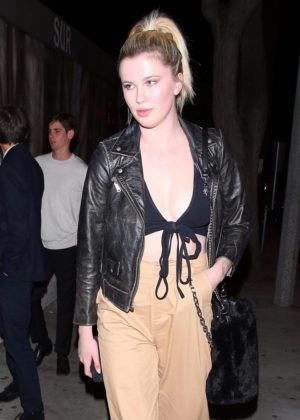 Ireland Baldwin at 'Sur' Restaurant in West Hollywood