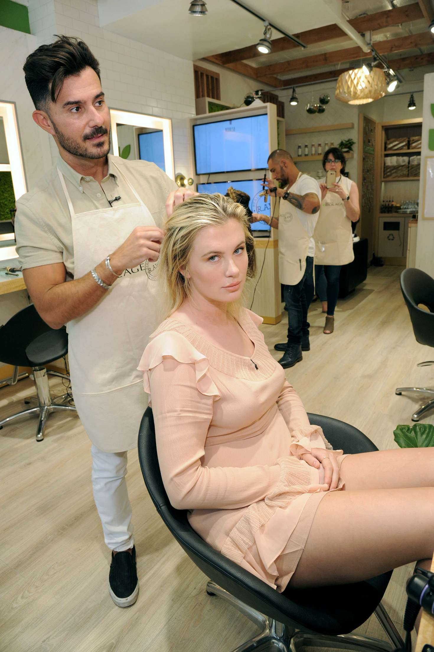 Ireland Baldwin 2017 : Ireland Baldwin at the Biolage RAW Styling Naked Touch Experience -14