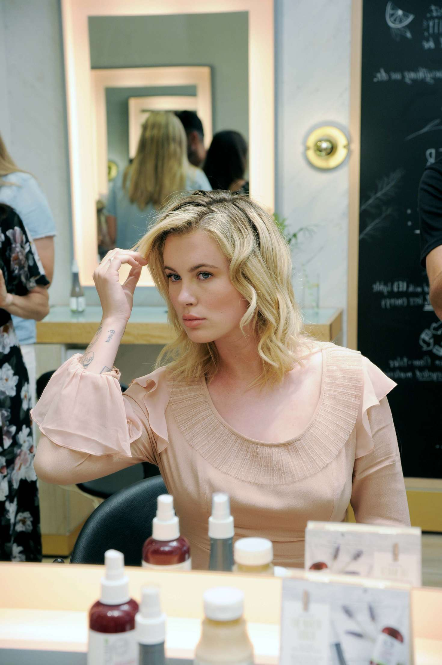 Ireland Baldwin 2017 : Ireland Baldwin at the Biolage RAW Styling Naked Touch Experience -15