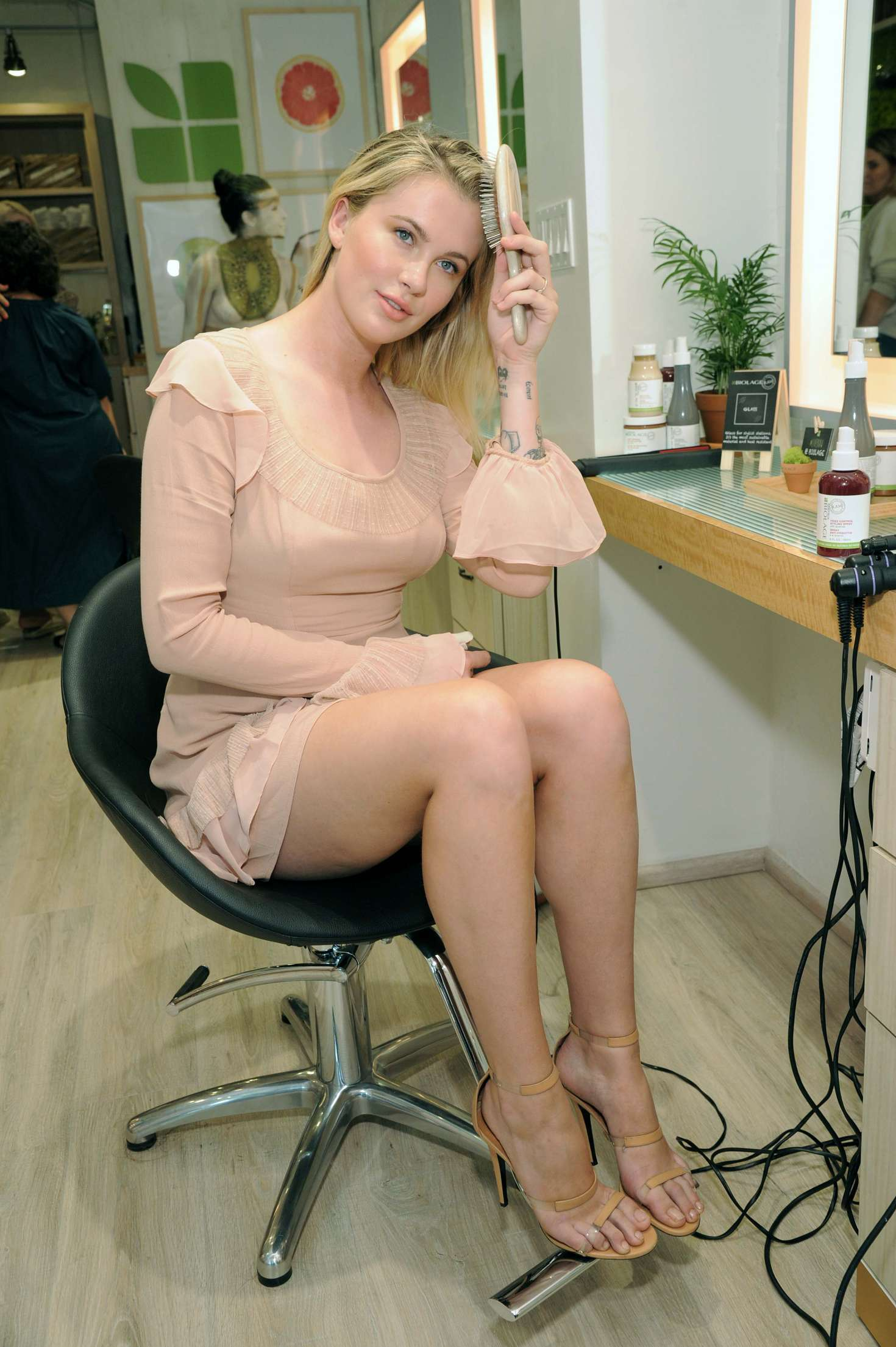 Ireland Baldwin 2017 : Ireland Baldwin at the Biolage RAW Styling Naked Touch Experience -23