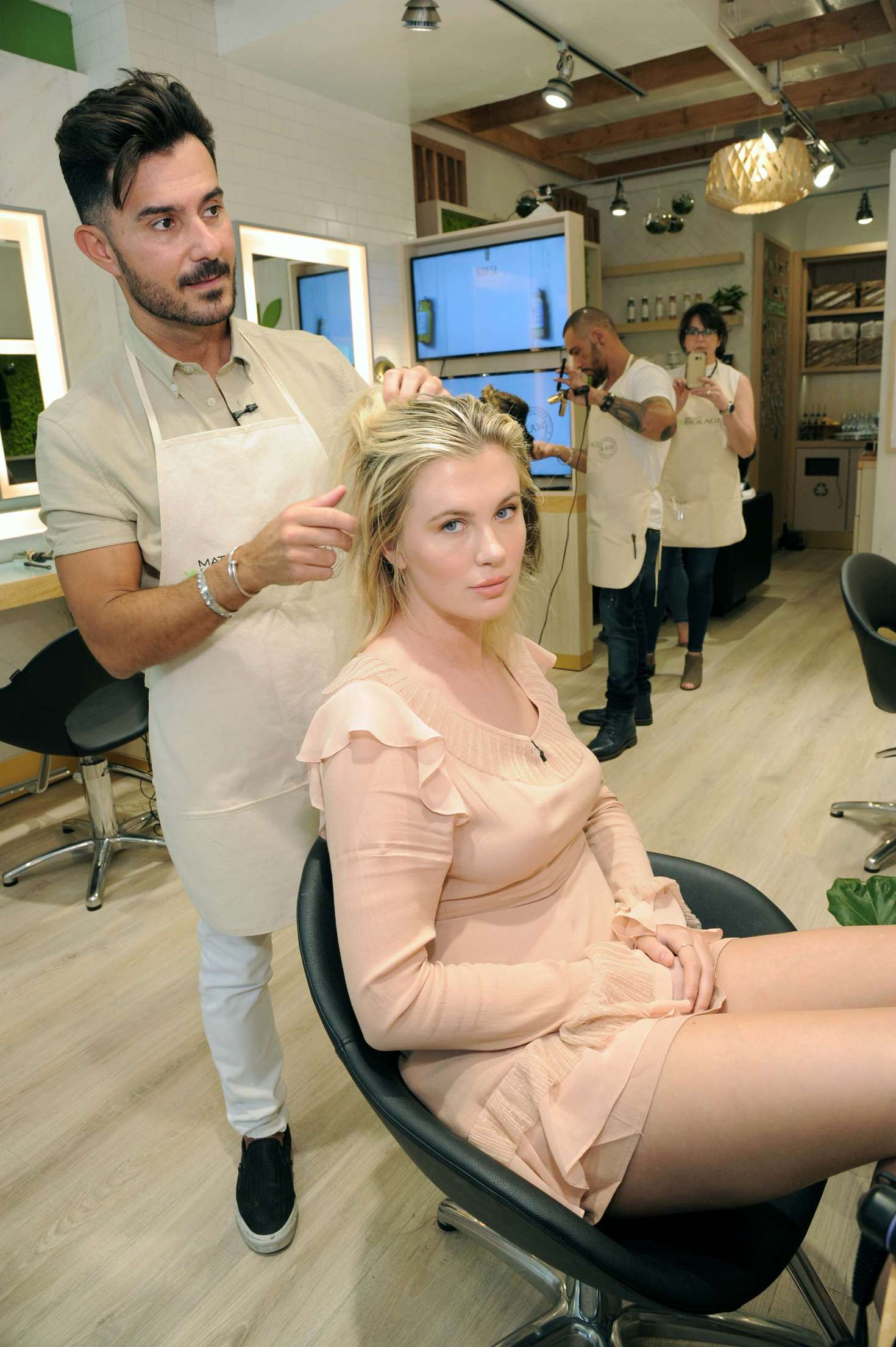 Ireland Baldwin 2017 : Ireland Baldwin at the Biolage RAW Styling Naked Touch Experience -24