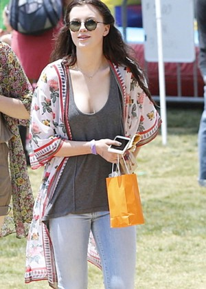 Ireland Baldwin at Topanga Days in LA