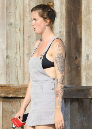 Ireland Baldwin - Heads to Trancas Market in Malibu