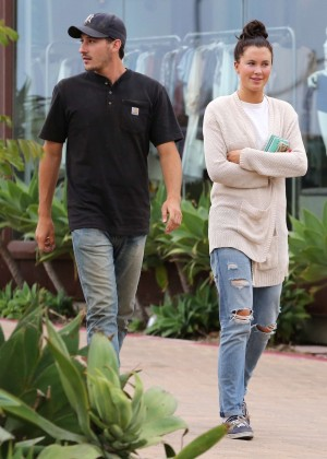 Ireland Baldwin in Jeans Out in Malibu