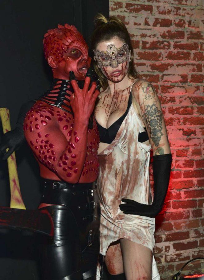 Ireland Baldwin - Just Jared's 7th Annual Halloween Party in LA
