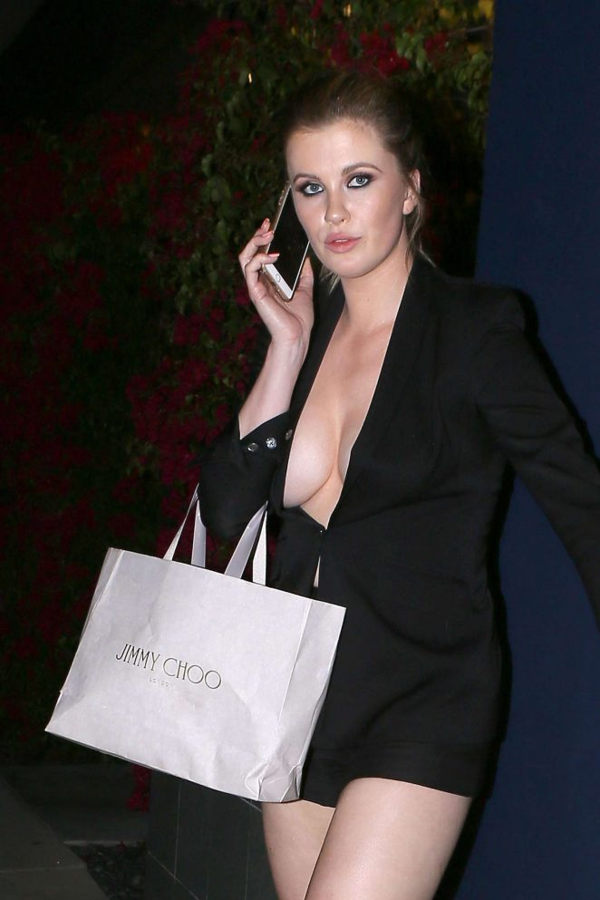 Ireland Baldwin Leaves the Power Stylists Dinner in West Hollywood