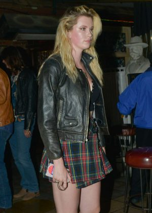 Ireland Baldwin - Leaving The Rainbow night club in Hollywood