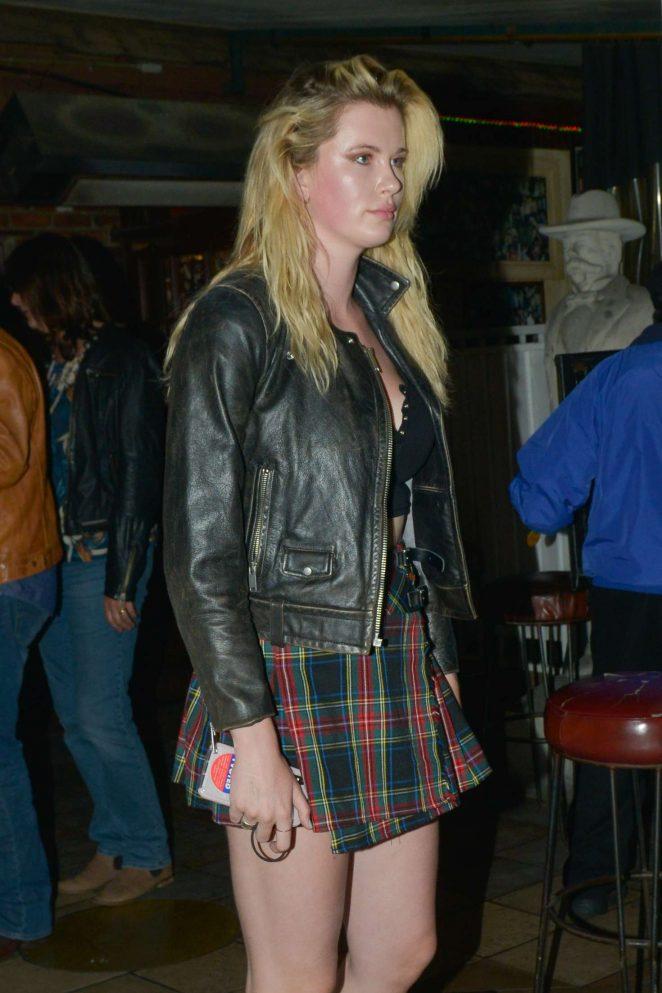 Ireland Baldwin - Leaving The Rainbow night club in Hollywood