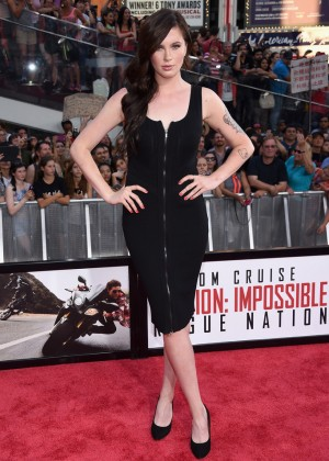 Ireland Baldwin - 'Mission: Impossible - Rogue Nation' Premiere in NYC