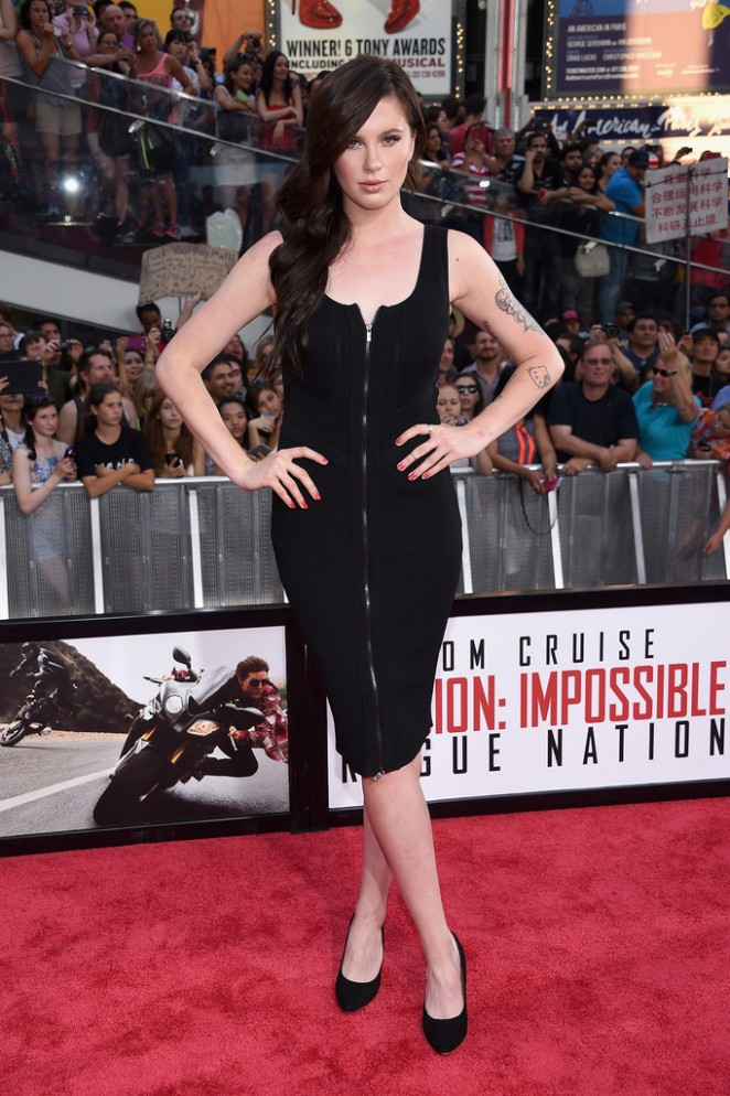 Ireland Baldwin – 'Mission: Impossible – Rogue Nation' Premiere in NYC