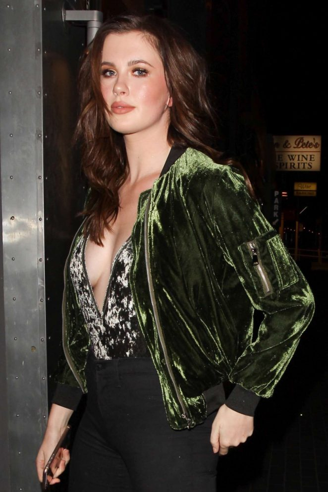 Ireland Baldwin Out in West Hollywood