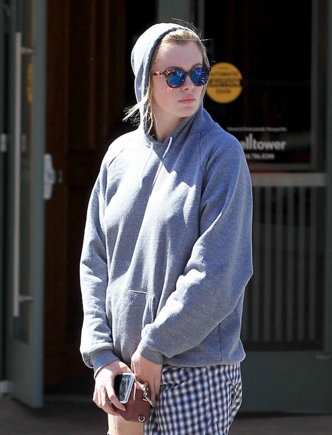 Ireland Baldwin out Shopping in Beverly Hills