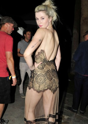Ireland Baldwin - Soho Desert House with Bacardi in La Quinta