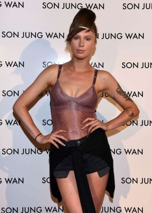 Ireland Baldwin - Son Jung Wan Fashion Show Spring 2016 NYFW in NYC