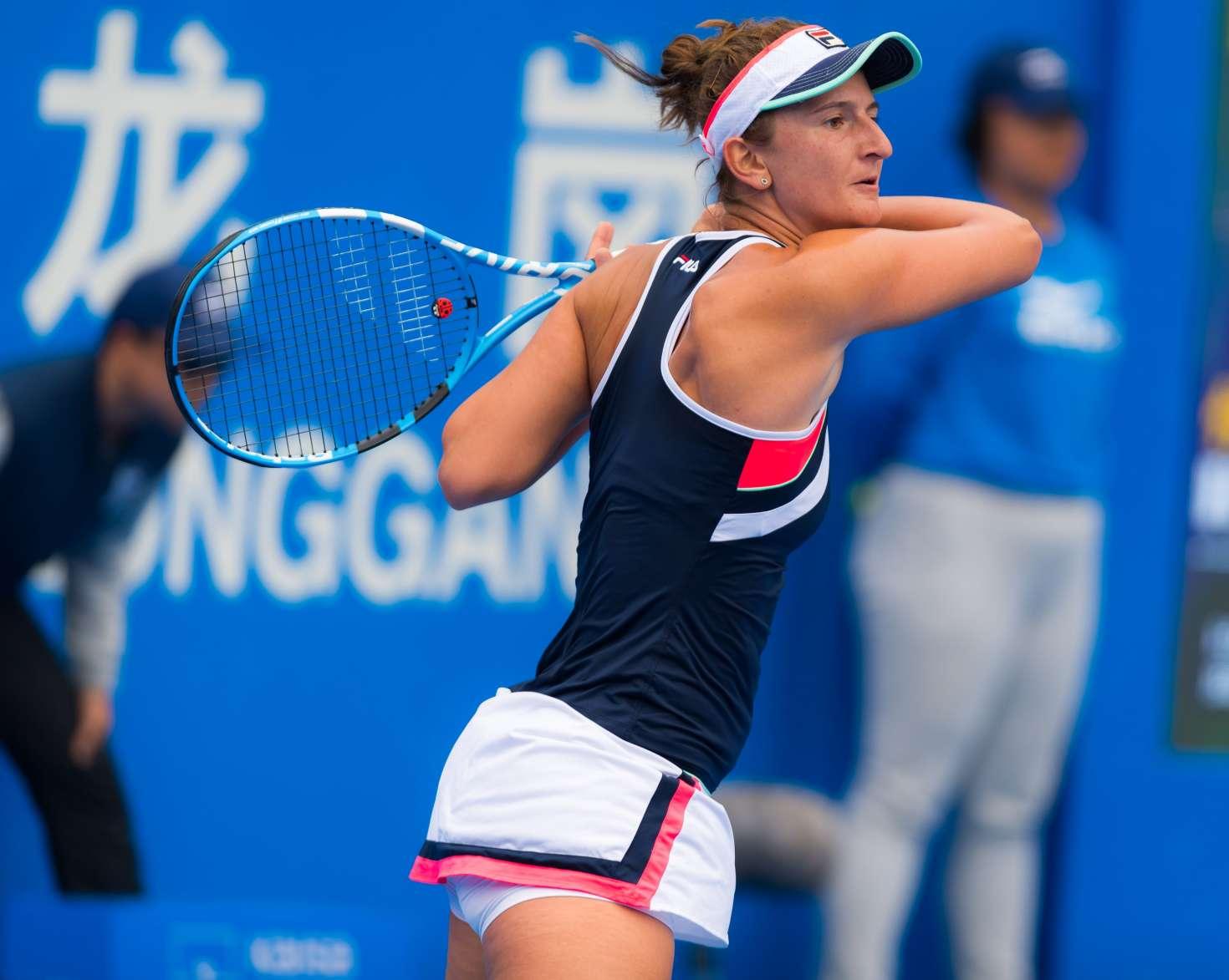Irina Begu vs Laura Siegemund WTA Bucharest 19.07.2019 ...  |Irina Begu