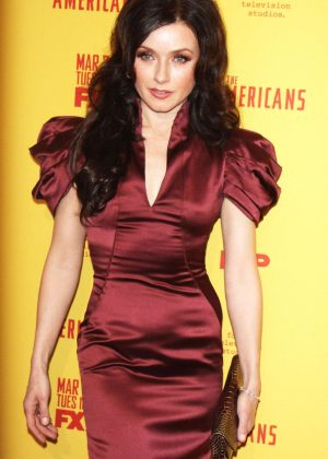 Irina Dvorovenko - 'The Americans' Season 5 Premiere in New York City
