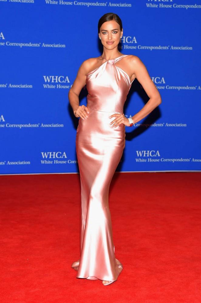 Irina Shayk - 2015 White House Correspondents' Association Dinner in Washington