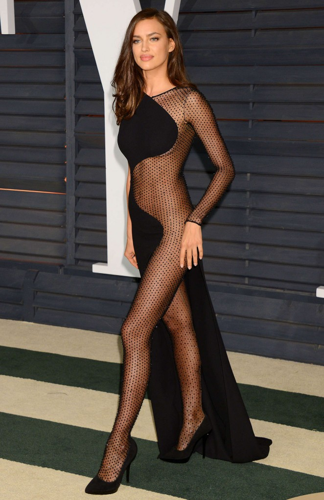Irina Shayk - 2015 Vanity Fair Oscar Party in Hollywood
