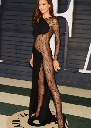 Irina Shayk 2015 Vanity Fair Oscar Party In Hollywood Gotceleb