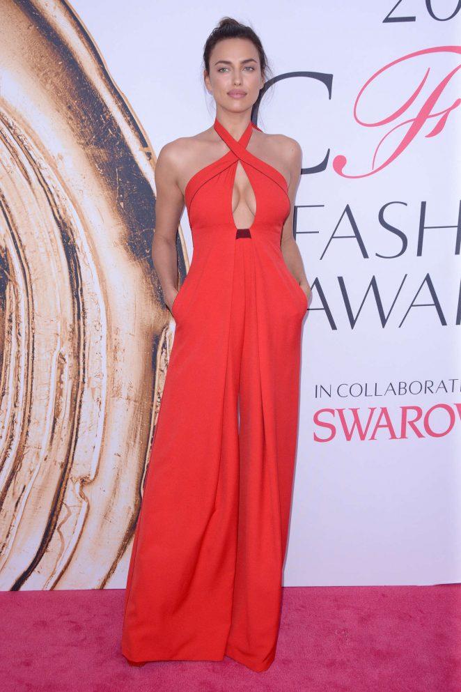 Irina Shayk - 2016 CFDA Fashion Awards in New York